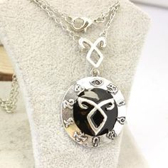 Shadowhunter Rune Pendant Necklace City of Bones The Mortal Instruments Jewelry Cosplay Jewelry