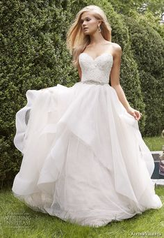 Alvina Valenta Fall 2015 Wedding Dresses For more wedding dress inspiration: http://www.boutiquebridalconcepts.com/suppliers/wedding-dresses #wedding #weddingdresses #AlvinaValenta
