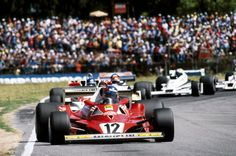 Gilles Villeneuve, Ferrari 312 T2 - Brazil 1978