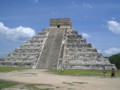 Chichen Itza, Cancun. One of the 7 wonders of the world.
