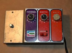 RARE Vintage MU Tron Phasor II Phase Shifter Guitar Effects Pedal -
