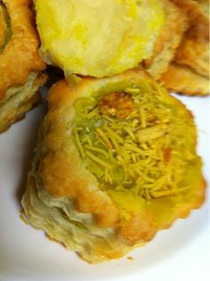 Shell curry puffs