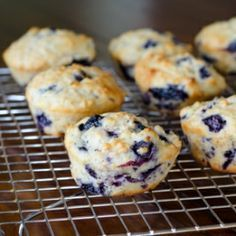 A light twist on a classic blueberry oatmeal muffin recipe using lemon and maple syrup to further enhance the blueberries.