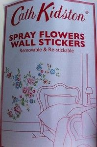 Cath Kidston Floral Wall Stickers Decals