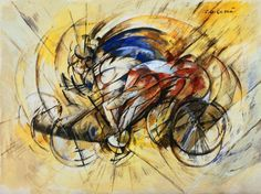 Carlo Carra, Ciclista 1913