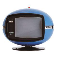Art,fashion,design,technology etc from the atomic space age Vintage Television, Television Set, Futuristic Interior, Futuristic Design, Modern Interior, Radios, Hifi Video, Portable Tv, Tv Sets