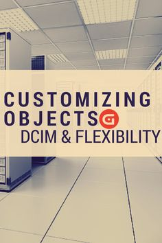 When it comes to DCIM, you should be able to do it yourself.