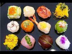 Temari Sushi (Sushi Balls) - YouTube