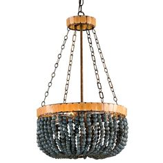 currey & co lana gray chandelier