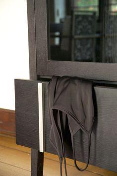 Møbel for Tonning tegnet av AS Scenario interiørarkitekter MNIL www.no Furniture Design, Curtains, Home Decor, Blinds, Decoration Home, Room Decor, Interior Design, Draping, Home Interiors