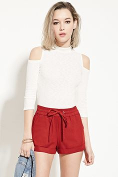 Forever 21 is the authority on fashion & the go-to retailer for the latest trends, styles & the hottest deals. Shop dresses, tops, tees, leggings & more! Pretty Little, Latest Trends, Casual Shorts, Short Dresses, Forever 21, Leggings, Tees, Outfits, Shopping