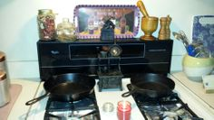Divine clutter..kitchen alter...elenor d roosevelt coven