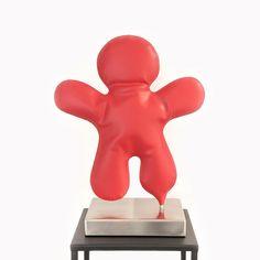 #sculpture Petits bonhommes Shapes, Sculpture, Metal, Artist, Color, Color Pop, Artists, Colour, Sculptures