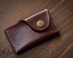 Leather credit wallet / card holder