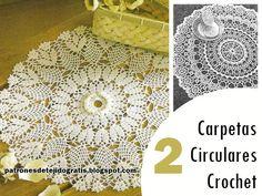 Más de 1000 imágenes sobre Carpetas, tapetes, bordes. en ...