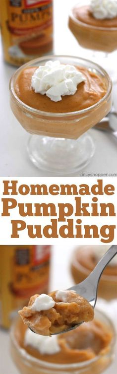 It's difficult to find box… Sponsored Sponsored Homemade Pumpkin Pudding – Great pumpkin dessert. It's difficult to find boxed pumpkin pudding and this homemade recipe is so much better than store bought. Pureed Food Recipes, Pudding Recipes, Cooking Recipes, Pumpkin Recipes, Fall Recipes, Holiday Recipes, Fall Desserts, Just Desserts, Dessert Recipes