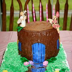 Fairy House Cake Tutorial