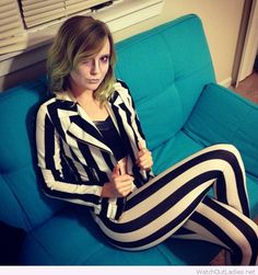 Halloween female beetlejuice