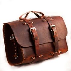 No. 4311r - Large Grunge Leather Satchel - Limited Supply // Custom Handmade Leather Products