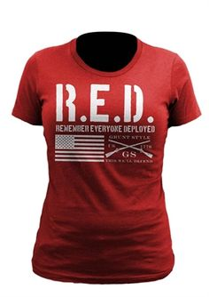 Picture of Grunt Style - Women's Red T-Shirt