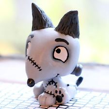 Sparky from Frankenweenie inspired LPS custom.