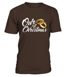 # Men S Our 1st Christmas - Married Wedding Ring Bands T-shirt Xl Brown .    COUPON CODE    Click here ( image ) to get COUPON CODE  for all products :      HOW TO ORDER:  1. Select the style and color you want:  2. Click Reserve it now  3. Select size and quantity  4. Enter shipping and billing information  5. Done! Simple as that!    TIPS: Buy 2 or more to save shipping cost!    This is printable if you purchase only one piece. so dont worry, you will get yours…