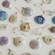Handmade Resin Jewelry - Nature Inspired Jewelry - by Floral Joy . - Handmade resin jewelry – nature inspired jewelry – by Floral Joy # resin jew - Resin Jewlery, Resin Jewelry Making, Resin Jewelry Tutorial, Silver Jewelry, Jewellery Making, Vintage Jewelry, Silver Rings, Ice Resin, Resin Art