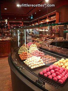 Larnicol, Paris  Meilleur Ouvrier de France  Pastries and Chcolate