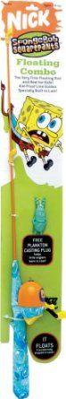 Zebco Spongebob Floating Fishing Rod and Reel Combo Fishing Rods And Reels, Rod And Reel, Fishing Poles, Spongebob, Tableware, Amazon, Kid, Free Shipping, Room