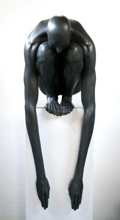 Emil Alzamora..On this PINTEREST board are many more beautiful sculptures ...http://www.pinterest.com/marianahristova/small-plastic/