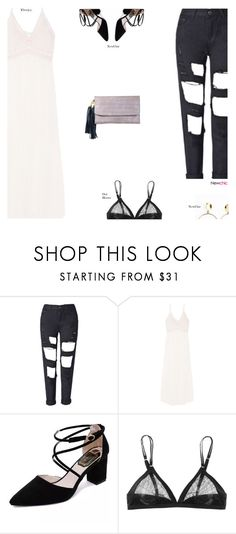 """""""NewChic"""" by s-thinks ❤ liked on Polyvore featuring Eberjey and ootd"""