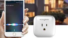 Koogeeks Affordable Smart Plug Speaks Siris Language