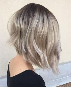 silver hair color, silver hairstyles. Love this cut + color!