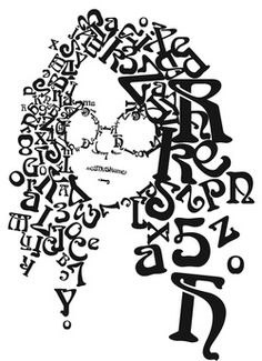 Project 2a - Typographic Portrait #1