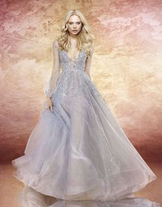 The LUMI gown by Hayley Paige. <drops mic>