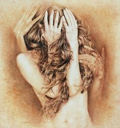 """Saatchi Art Artist Walter Girotto; Drawing, """"I'LL BE THERE"""" #art"""