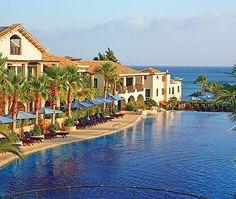 Columbia Beach Resort offers luxury holidays on Pissouri Bay in Cyprus. Enjoy 5 star hospitality in an award winning all suite Spa Resort. Beach Hotels, Beach Resorts, Hotels And Resorts, Top Hotels, Travel Around The World, Around The Worlds, 5 Star Resorts, Small Luxury Hotels, Luxury Travel