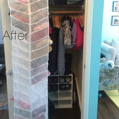 Deep Coat Closet #2 After   Pinterest   Closet Solutions, Hall Closet And  Organizations