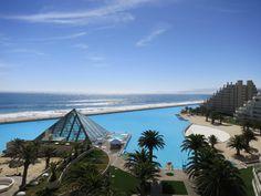 La Piscina mas grande del mundo SAN ALFONSO DEL MAR RESORT ALGARROBO,V REGION CHILE.