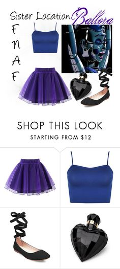 """Ballora - FnaF Sister Location"" by kbnewman on Polyvore featuring Freddy, Chicwish, WearAll, Steve Madden and Lipsy"