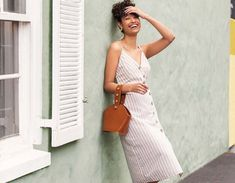 The linen-look: Summer 2019's hottest trend - Ackermans Magazine Paperbag Pants, Work Wear, Fashion Beauty, Bell Sleeves, Curves, Wrap Dress, Hot, Casual, Summer