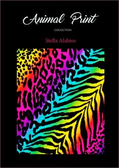 animal print collection sketch book  fashion sketch book , designed & edit by Stella Alabiso