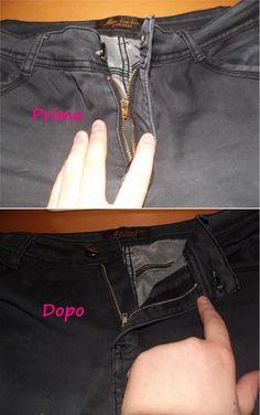 come cambiare una cerniera a pantaloni e jeans