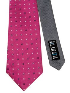 Flipmytie - Men's Hot Pink Reversible Tie , $24.99 (http://www.flipmytie.com/mens-hot-pink-reversible-tie/)