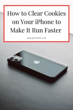 How to Clear Cookies on iPhone to Make It Run Faster