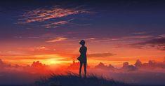 38652_anime_scenery_anime_girl_and_sunset.jpg (JPEG Image, 1640×860 pixels) - Scaled (87%)