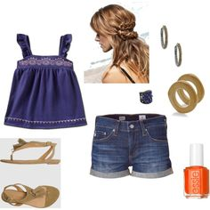 Summer Sun, created by laura-hurt-corley.polyvore.com