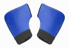 Thermal Gloves Windproof Motorcycle/Motorbike Gloves Fingerless Gloves,Blue