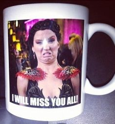 jennifer got these mugs printed for the crew in atlanta oh my god