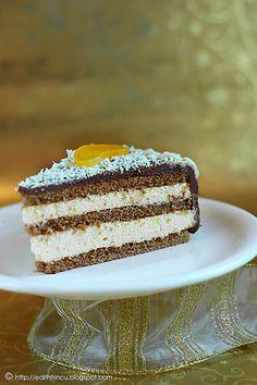 slice of apricot cake Dessert Cake Recipes, Desserts, Apricot Cake, Crepe Cake, Cupcake Cakes, Cupcakes, Let Them Eat Cake, No Bake Cake, Amazing Cakes